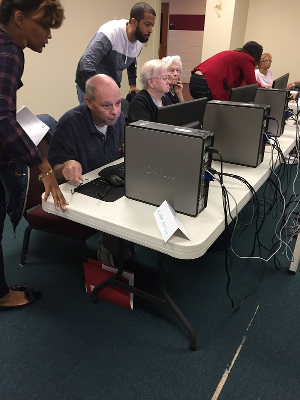 Technology training for seniors